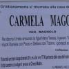 E' morta Carmela Maggio, ved. Magnolo
