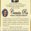 E' morta Carmela Ria