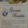 E' morto Giovanni Bandello
