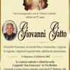 E' morto Giovanni Gatto