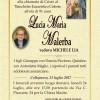 E' morta Maria Lucia Malerba, ved. Lia
