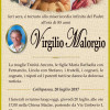 E' morto Virgilio Malorgio