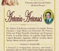 È morto Antonio Antonaci