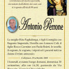 È morto Antonio Perrone