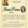 È morto Antonio Plantera