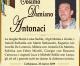 È morto Cosimo Damiano Antonaci