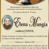 È morta Elena Mangia, ved. Costa