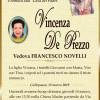 È morta Vincenza De Prezzo, ved. Novelli