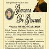 È morta Giovanna De Giovanni, ved. Scarlino