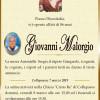 È morto Giovanni Malorgio