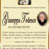 E' morta Giuseppa Tedesco