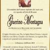 E' morto Guerino Montagna