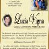 E' morta Lucia Vigna, ved. Pellegrino