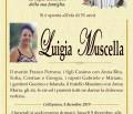 È morta Luigia Muscella