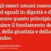 """70 anni fa la Dichiarazione Universale dei Diritti Umani dell'Onu: """"Tutti gli esseri umani nascono liberi ed eguali in dignità e diritti"""""""