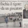 """Zollino-Usd Collepasso. Quotidiano: """"L'arbitro fischia il rigore: aggredito da un giocatore"""""""