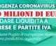 750 milioni dalla Regione a sostegno di imprese, lavoratori autonomi e fasce deboli colpiti dall'emergenza Covid