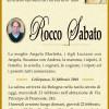 È morto Rocco Sabato