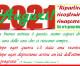 """""""Ripartire, ricostruire, rinascere…"""": buon Anno 2021!"""