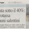 """""""Stangata ecotassa"""" per Collepasso e altri Comuni salentini: si pagherà la tariffa massima di € 25,82/tonnellata"""