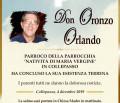 È morto don Oronzo Orlando