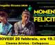 """Progetto Cinema 2020: """"Momenti di trascurabile felicità"""" di Daniele Luchetti (20 febbraio, ore 19.30, cinema Ariston)"""