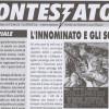 """In distribuzione il 2° numero del periodico """"il Contestatore"""" di Lucio Russo"""