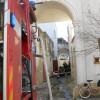 Incendio in un'abitazione di via Conte Alberti. Pronto intervento dei Vigili del Fuoco