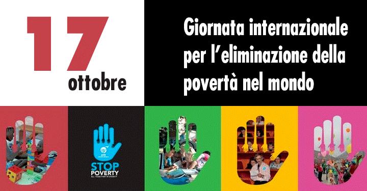 17 ottobre, Giornata internazionale Onu per l'eliminazione della povertà