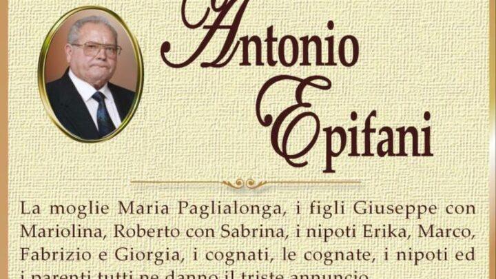 È morto Antonio Epifani
