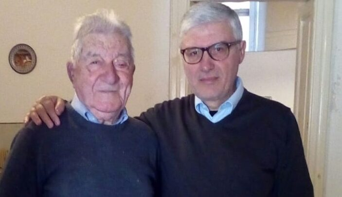 """Antonio Longo, 100 anni e lo sguardo sempre sul futuro… """"centu anni… e cci' ssuntu""""?!?"""