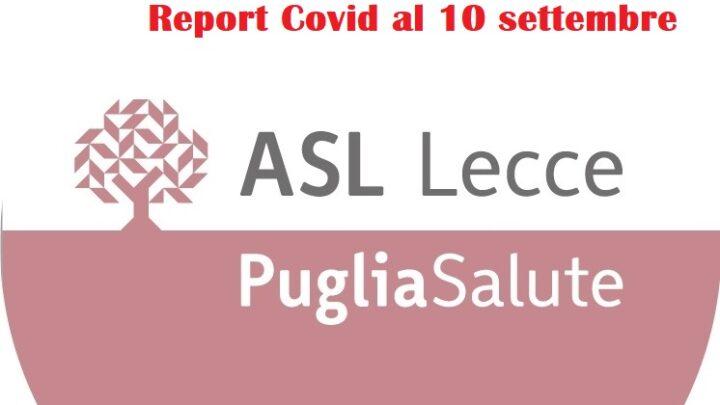 """Report Asl Covid: 1.048 i """"positivi"""" in provincia (- 226), 8 a Collepasso (+ 2)"""