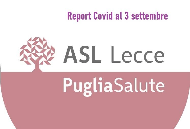 """Report Asl Covid: 1.274 """"positivi"""" in provincia (+ 3), 6 a Collepasso (- 3)"""