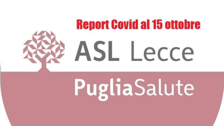 """Report Asl Covid: 386 i """"positivi"""" in provincia (-148), 1 a Collepasso (-2)"""
