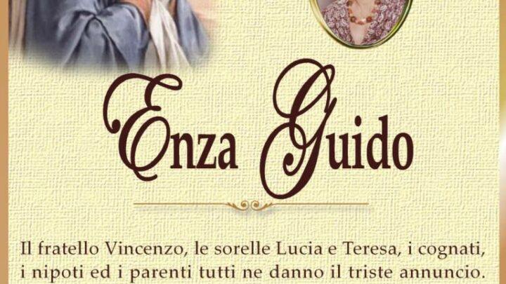 È morta Enza Guido