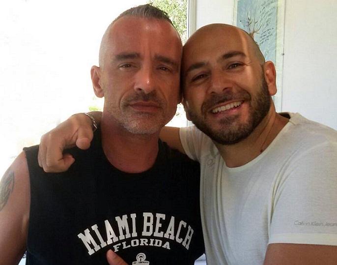 Eros Ramazzotti e Danilo Calò