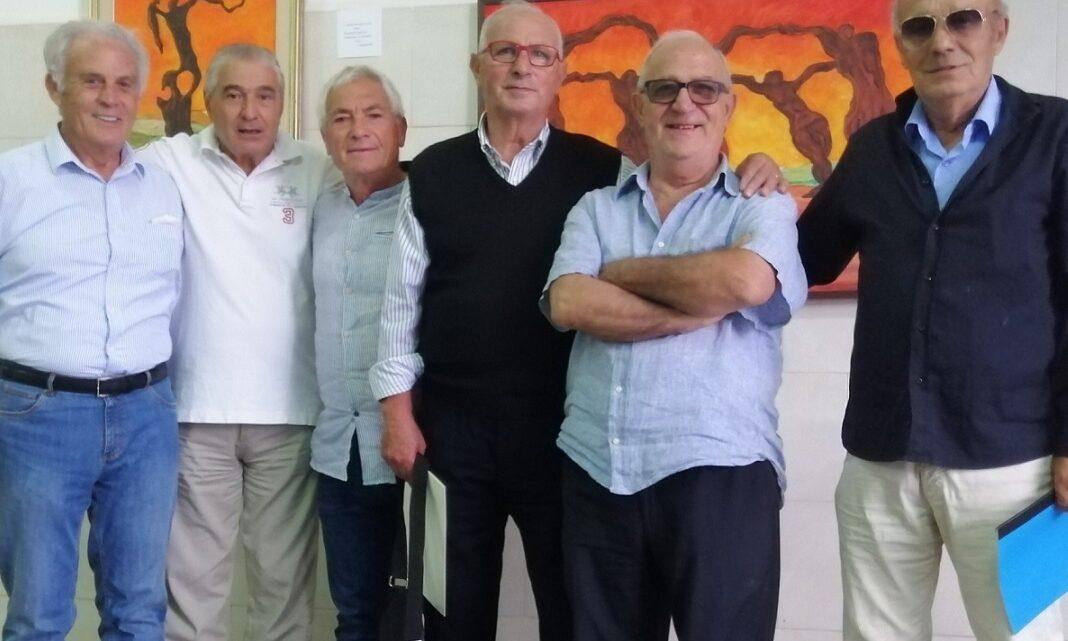 Due ex calciatori collepassesi (T. De Simone e C. Marra), incontrano compagni di squadra degli anni '60