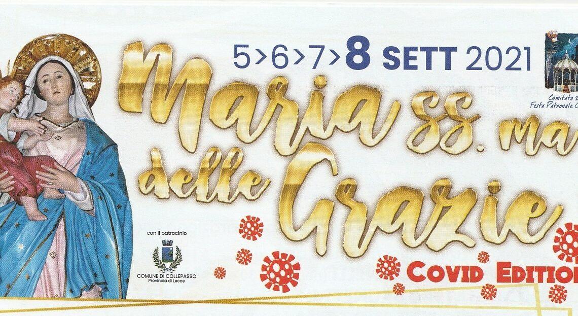 """Festa Patronale della Madonna delle Grazie… ancora """"covid edition"""" (5-8 settembre)"""