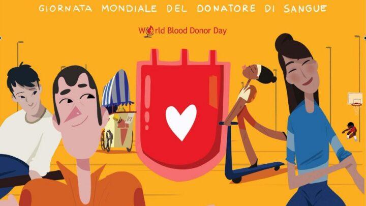 14 giugno, Giornata mondiale del Donatore di sangue