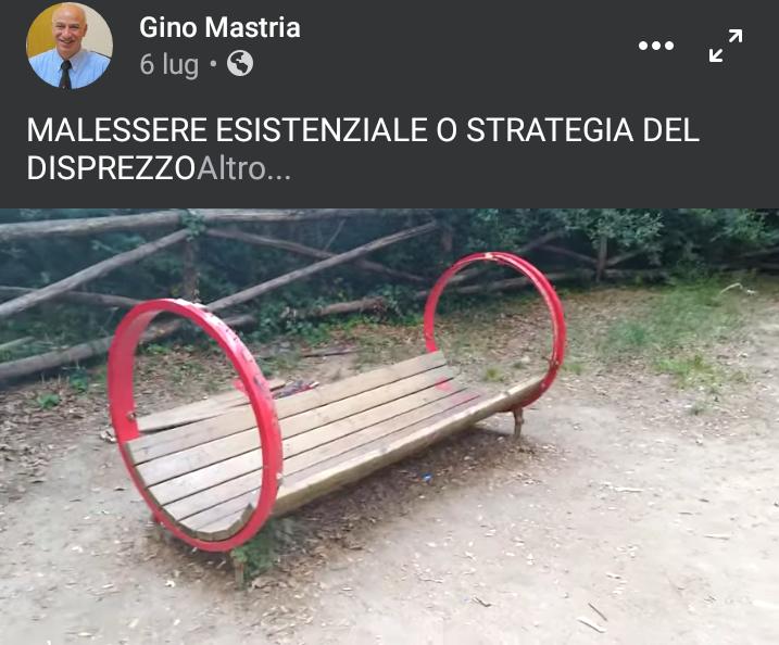 Atti vandalici al Bosco: l'Amministrazione ha mai presentato denunce a Carabinieri e Procura?!?