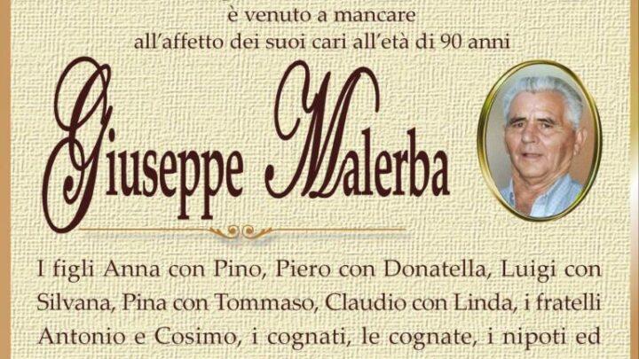 È morto Giuseppe Malerba