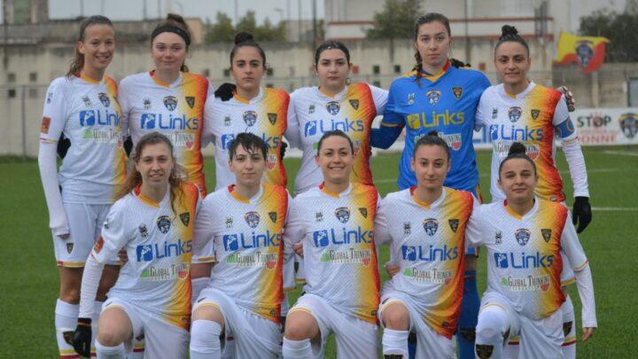 Serie C femminile: Ludos Palermo-Lecce Women 2-0