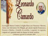 È morto Leonardo Camardo