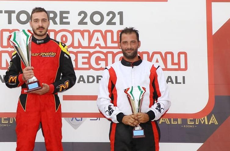 Il collepassese Lorenzo Pellegrino campione nazionale Aci Karting