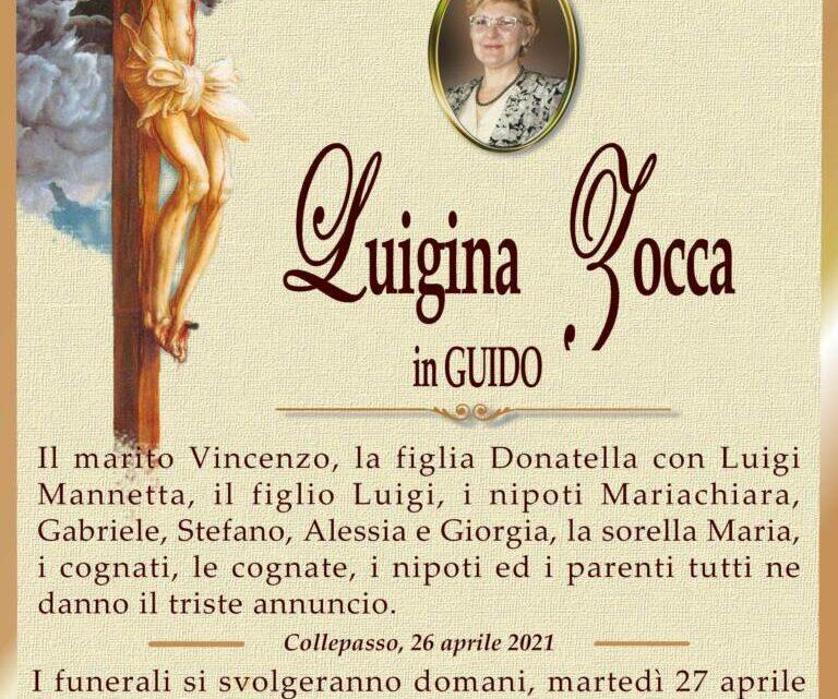 È morta Luigina Zocca in Guido