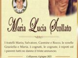 È morta Maria Lucia Scollato