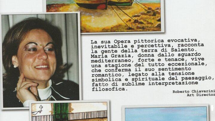 """Maria Grazia Maggiulli, il """"dono"""" e la """"grazia"""" della pittura"""