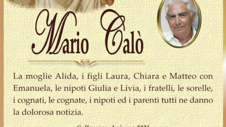 È morto Mario Calò