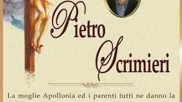 È morto Pietro Scrimieri