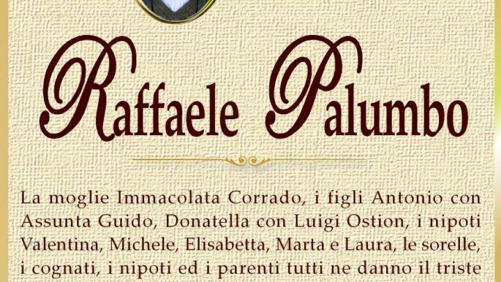 È morto Raffaele Palumbo